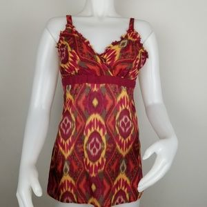 Maurices Lg Colorful Tank Top